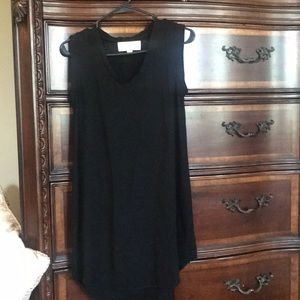 Cloth & Stone Black Tank Dress XS
